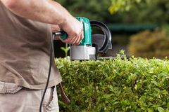 The gardener Royalty Free Stock Images