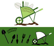 Gardener equpment Stock Photos