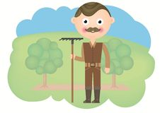 Gardener Royalty Free Stock Photo