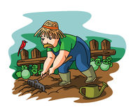 Gardener man Royalty Free Stock Photo