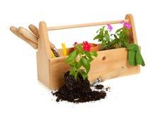 Gardener's  Tote Box Stock Image