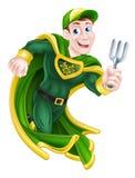 Gardener Superhero Royalty Free Stock Photo