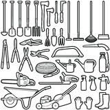 Gardener tools Stock Photography
