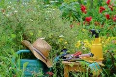 Gardener tools Stock Image