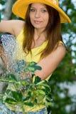 Gardener woman Royalty Free Stock Image