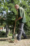 Gardener by the work Royalty Free Stock Photography