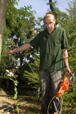 Gardener by the work Royalty Free Stock Photo