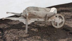 Gardeners Wheelbarrow. Royalty Free Stock Photo