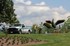 Gardeners at Work Stock Image