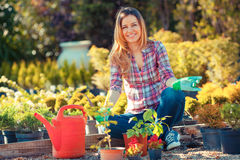 Free Gardening Stock Photography - 54111532