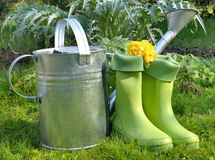 Gardening accessories Stock Photography