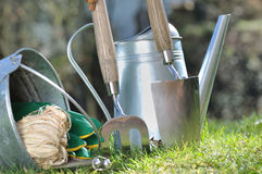 Gardening accessories Stock Photo