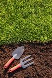 Gardening background Stock Image
