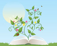 Gardening book Stock Image