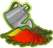 Gardening, Can, Garden, Equipment Stock Images