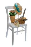 Gardening Chair Royalty Free Stock Photo
