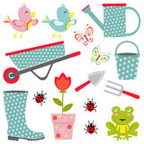 Gardening collection Royalty Free Stock Image