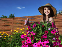 Gardening concept Stock Image
