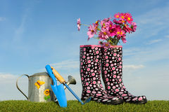 Gardening concept two Stock Photography