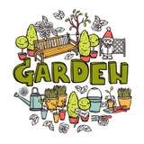 Gardening Design Concept Stock Photo
