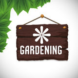 Gardening design Royalty Free Stock Photography