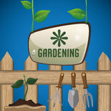 Gardening design Royalty Free Stock Photo