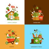Gardening Design Concept Stock Photography
