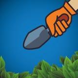 Gardening design Royalty Free Stock Images