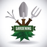 Gardening design. Stock Photos