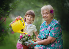Gardening, discovering and teaching concept Royalty Free Stock Image