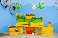 Gardening display Stock Image