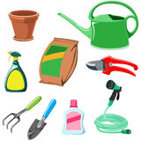 Gardening equipment Royalty Free Stock Photography