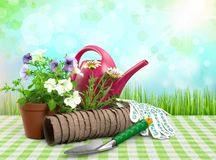Gardening Equipment Royalty Free Stock Images