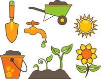 Gardening equipment illustration vector illustration