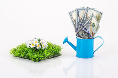 Gardening expenses Stock Image