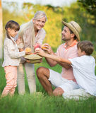 Gardening, family concept Stock Photography