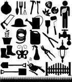 Gardening, and garden tools Stock Photo
