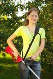 Gardening girl Royalty Free Stock Images