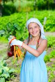 Gardening girl Royalty Free Stock Images