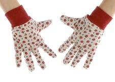 Gardening gloves Royalty Free Stock Photos