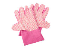 Gardening gloves Royalty Free Stock Images