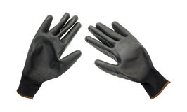 Gardening gloves on a white background Stock Image