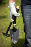 Gardening Hand Trowel and Fork Stock Photography