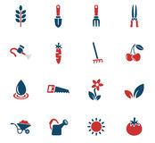 Gardening icon set Royalty Free Stock Image