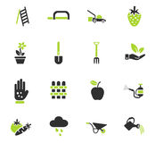 Gardening icon set Royalty Free Stock Photo
