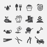 Gardening icon Stock Photography