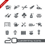 Gardening Icons -- Basics Royalty Free Stock Photography