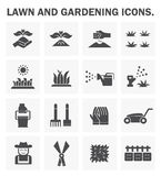 Gardening line icon stock illustration