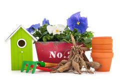 Gardening objects Royalty Free Stock Image
