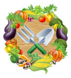 Gardening Produce Concept Stock Images